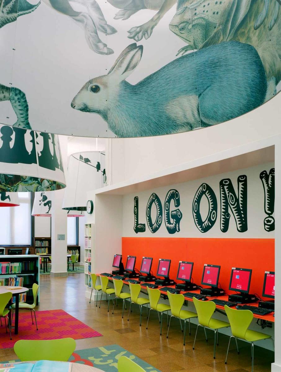 NYPL Fort Washington Reading Room